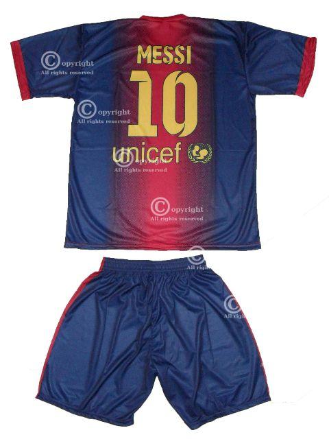 14d89217fa477f Komplet piłkarski (koszulka + spodenki; replika) - Messi FC ...